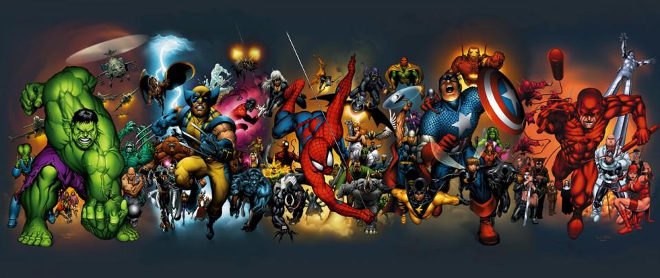 Da noi i grandi eroi Marvel !!